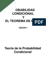 Probabilidad Condicional -Bayes