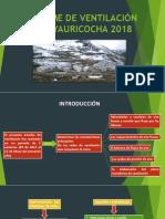 INFORME DE VENTILACIÓN MINA YAURICOCHA 2018.pptx