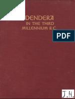 Fischer - Dendera in the Third Millennium B.C.-1968
