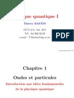 Physique Quantique 1