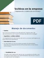 Archivos en La Empresa