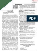 """""""Lineamientos para la Gestión de la Convivencia Escolar, la Prevención y la Atención de la Violencia Contra Niñas, Niños y Adolescentes"""""""
