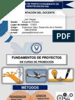 Diseño de Proyectos Xiii Cp