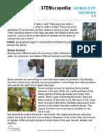 animal habitats of georgia study guide