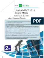 Prova Diagnostica GDF 2018