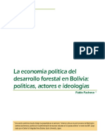 PACHECO Economia Desarr Forestal Bolivia