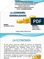 Economia Generalidades Presentacion Powerpoint