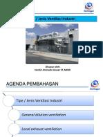 2. Tipe Ventilasi Industri