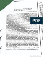 Despre Transplantul de Organe d.p.d.v Ortodox- Pr. Prof. Dr. Raduca Vasile