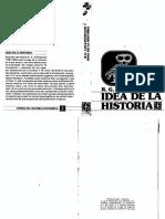 Collingwood, R G - La Idea de La Historia
