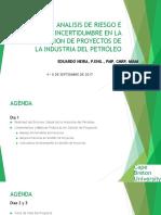 Análisis de Riesgos e Incertidumbre Evaluación Proyectos P&G