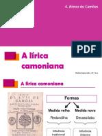Lirica Camoniana Carac e Temas