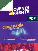 JÓVENES AL FRENTE