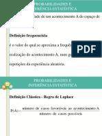 Nocoes de Estatistica e Fiabilidade II Probabilidades e Inferencia