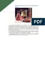 Reacciones Enzimáticas en Los Alimentos Fermentados