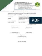 LPJ KEGIATAN PELAKSANAAN PROGRAM P4K (Autosaved).docx