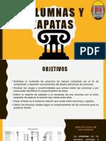 Columnas y Zapatas