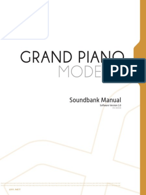 Grand Piano Model d Manual | Synthesizer | License