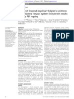 Effi cacy of rituximab in primary Sjögren's syndrome with peripheral nervous system involvement- results from the AIR registry 2011