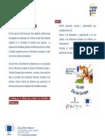 Programación Día de Europa 2014