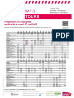 Tours - Vierzon - Bourges - Nevers Du 15-05-2018