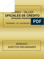 Diapositivas Curso Oficiales de Credito