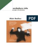 SlideDoc.es Descargar eBooks La Verdadera Vida by Alain Badiou Online.pdf