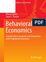 [Springer Texts in Business and Economics] Masao Ogaki,Saori C. Tanaka (Auth.) - Behavioral Economics_ Toward a New Economics by Integration With Traditional Economics (2017, Springer Singapore)