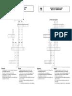 Crucigrama Mezclas y Combinaciones