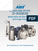 Cat K Series Submersible Pumps