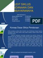 Audit Siklus Pendanaan Dan Pembayarannya