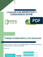 Trabajo Colaborativo y Codocencia en Pie
