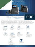 Datasheet Gxp1628 Spanish