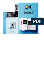 Publicidad presentación de libro