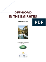 Off-Road in the Emirates I