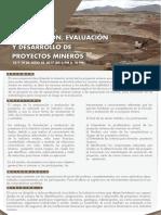 Curso Espec Formulacion y Evaluacion de Proyectos Mineros