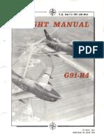 Fiat G91-R4 Flight Manual