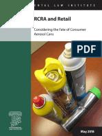 RCRA and Retail