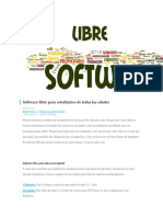 Software libre para estudiantes de todas las edades.docx