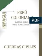 Peru 2 Guerras Civiles Incas de Vilcabamba.ppt