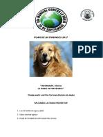 Plan de Actividades Por Dia de Lucha Contra La Rabia 2017 p.s Luis Felipe.