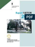 Raporti Vjetor i ASHSH 2015