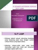 Pemeriksaan Segmen Anterior Dengan Slit Lamp
