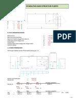 Analisa Struktur Plinth