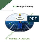 Wavetra Energy Academy Course Catalogue