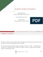 2.1. Conceptos Matemáticas