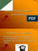 Sistemas Producto Servicio