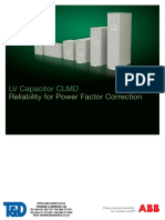 ABB CLMD Capacitors LV Low Voltage CLMD43