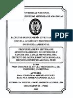 Propuesta de un sistema de aprovechamiento de estiércol y sangre del camal municipal del distrito de Jazán, provincia Bongará, departamento Amazonas, Perú.pdf