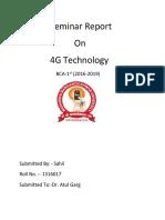 4G Report
